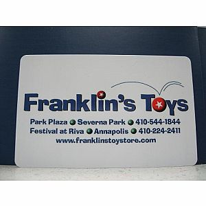 Franklin's Toys $25.00 Gift Card