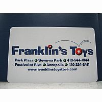 Franklin's Toys $50.00 Gift Card