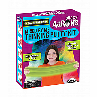Crazy Aaron's Glow in the Dark- Mixed by Me Thinking Putty Kit