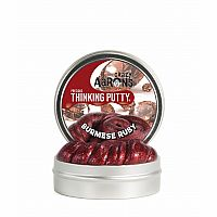 Crazy Aaron's Thinking Putty- Burmese Ruby