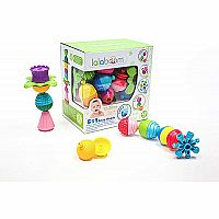 Lalaboom Educational Beads And Accessories - 48 Pcs
