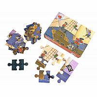40 Piece Pirate Floor Puzzle