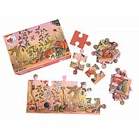 40 Piece Rabbit Garden Floor Puzzle