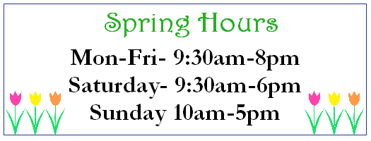 Spring Hours