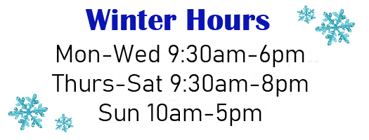 Winter Hours 2020